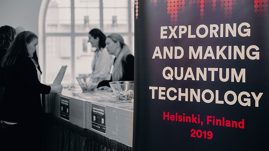 Titelbild des Events Exploring and Making Quantum Technologies